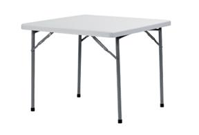 mesa cuadrada plegable