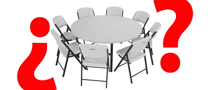 mesa redonda plegable header