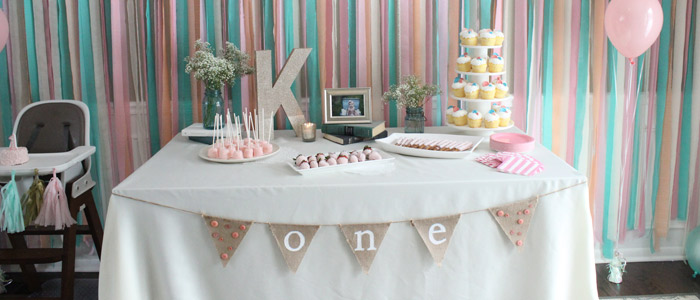 como decorar una mesas de cumpleaños