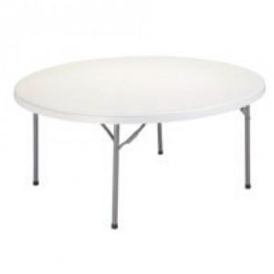 mesa redonda plegable 150 cm