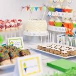 Como decorar una mesa para cumpleaños