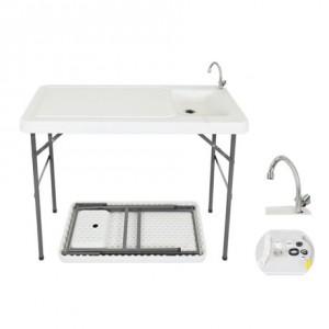 mesa fregadero plegable