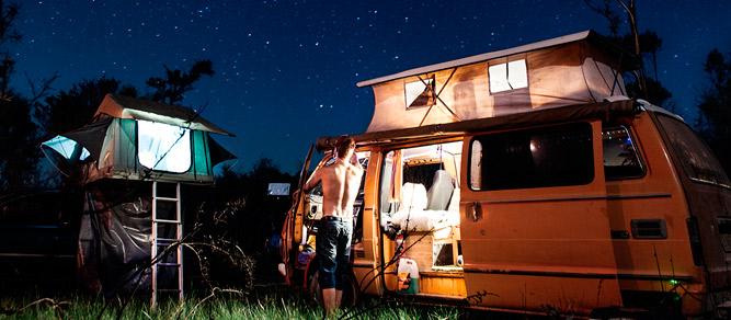 mesas plegables camping