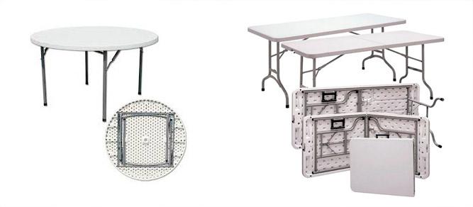 Comprar mesas plegables al por mayor para eventos