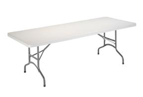 mesa plegable barata blanca