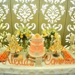 como decorar una mesa para una comunion