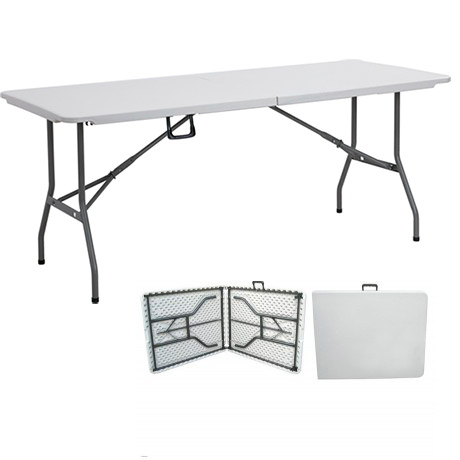 mesa plegable tipo maleta 180