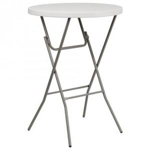 mesa plegable alta coctel