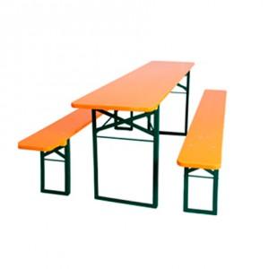 mesa madera oktoberfest
