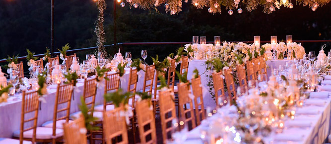 mesas banquetes plegables para eventos
